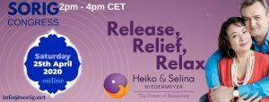"""Release, Relief, Relax"" Releasing workshop with Heiko & Selina Niedermeyer"