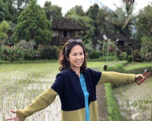 Karen Tok, Organiser and Sponsor for event