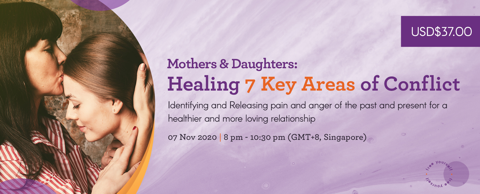 Mothers & Daughters: Healing 7 Key Areas of Conflict