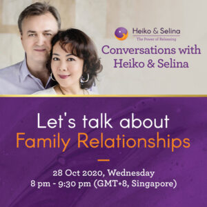 28 Oct 2020 Conversations with Heiko & Selina Ep8